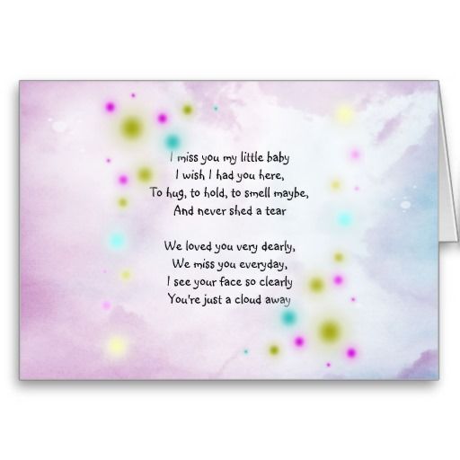 infant loss poetry